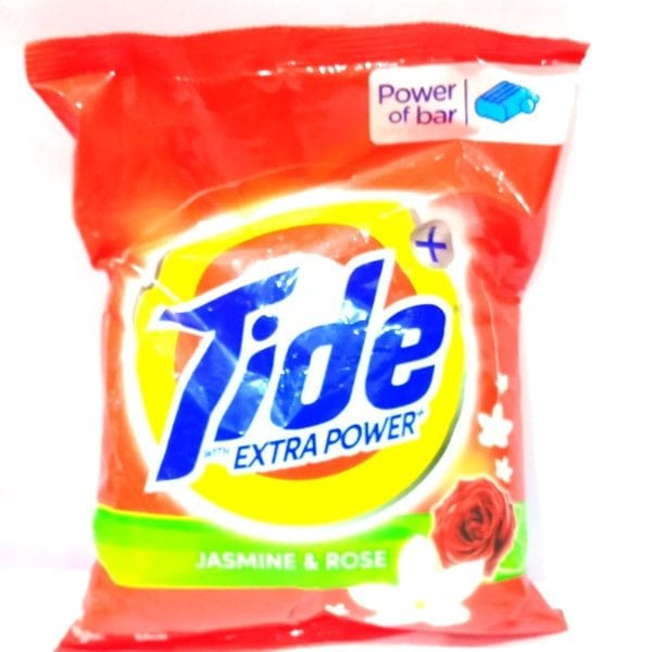 Tide Plus with Extra Power Jasmine and Rose Detergent Washing Powder - 1kg