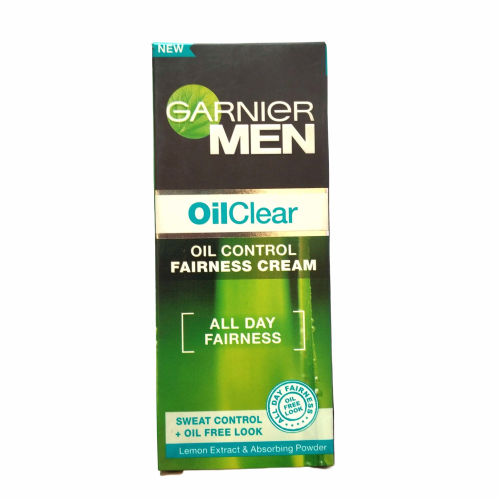 Garnier Men's Oil Clear, Oil Control Fairness Cream for Men- 20g