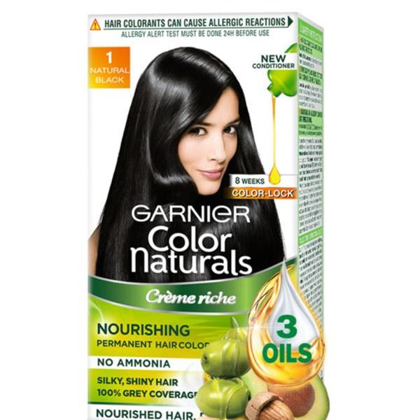 Garnier Color Naturals, Shade 1 Hair Color (Natural Black)