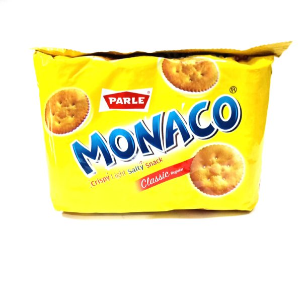 Parle Monaco Crispy Light Salty Snack, Classic Regular, 75.49g