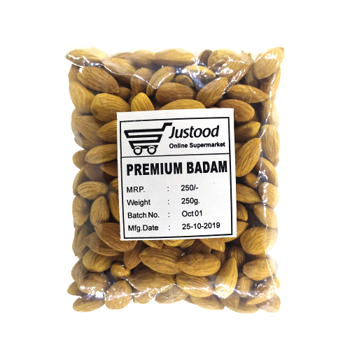 Justood Almond (Badam)- 250g
