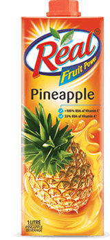 Real Juice - Fruit Power, Pineapple, 1 L