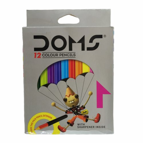DOMS Colour Pencils 12 Shades