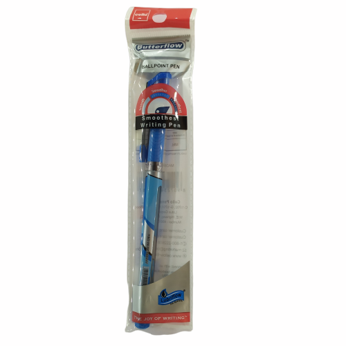 Cello Butterflow Ballpen- Blue