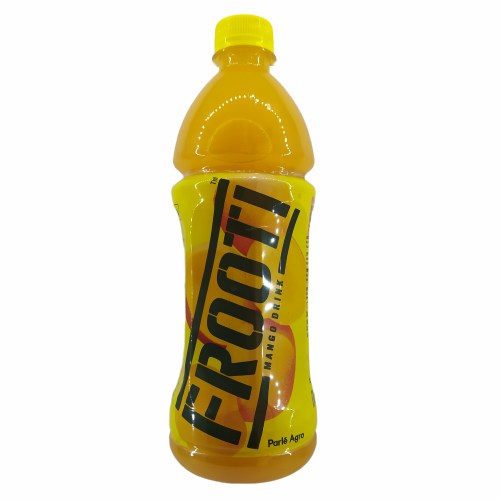 Frooti Fruit Drink, Mango, 600ml Bottle