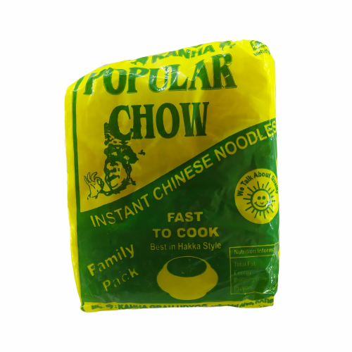 Popular Chow Instant Chinese Noodles 5 pack