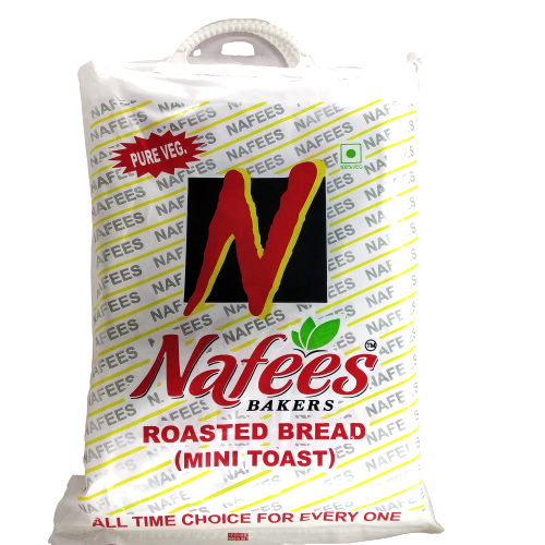 Nafees Roasted Bread (Mini Toast), 400g