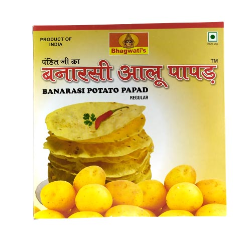 Banarasi Potato Papad (Aloo Papad) Regular- 250g