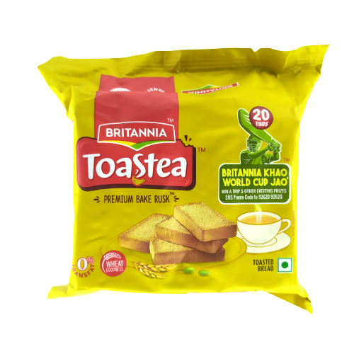 Britannia Wheat Rusks (toast) 63g