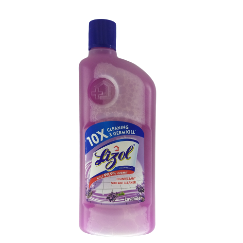 Lizol Disinfectant Floor Cleaner Lavender - 500ml