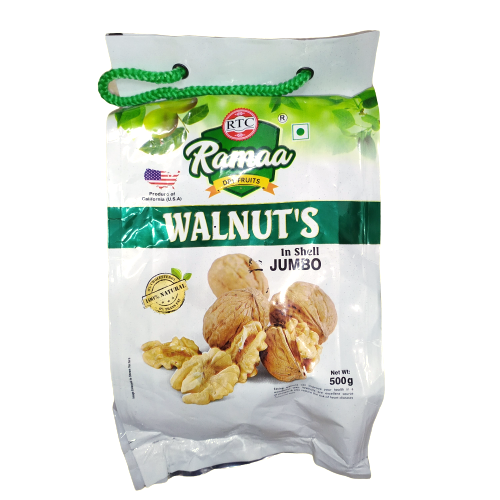 Tower Shelled Walnuts (Akhrot Sabut) - 500g