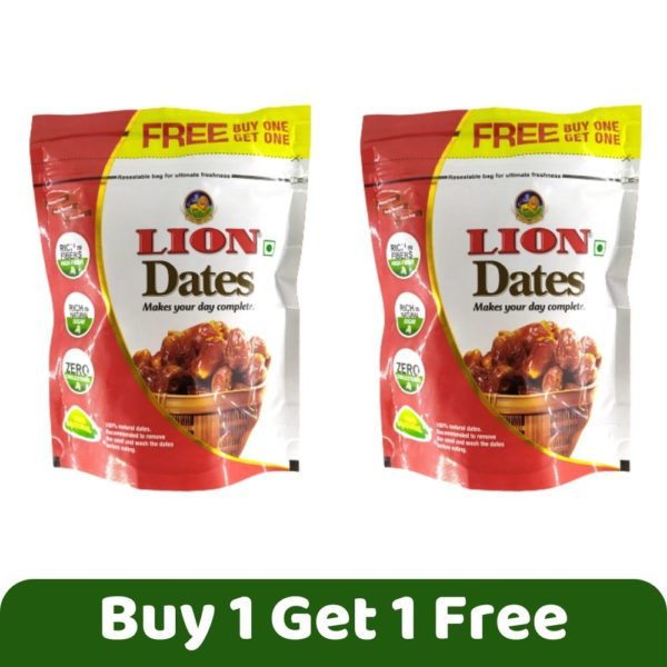 Lion Dates, 250g (Buy 1 Get 1 Free)