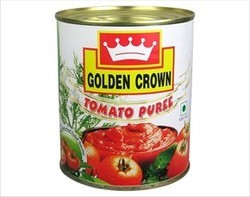 Golden Crown Tomato Puree - 825g